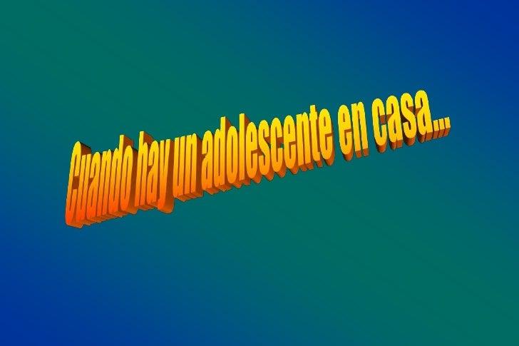 Adolescencia   La adolescencia es la aurora de un adulto        en el crepúsculo de un niño.                          Fran...