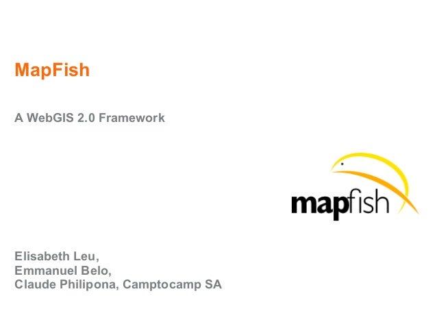 MapFish v1-0 Presentation