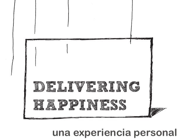 DELIVERINGHAPPINESS una experiencia personal