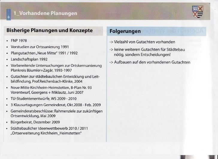 Bisherige         Planungen Konzepte                 und  FNP  i978                                          -> Vielzahl G...