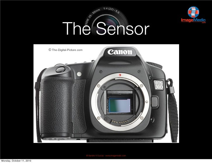 DSLR Photography - The Sensor - Week 5