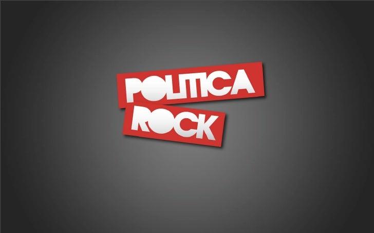 la actitud del rock    en la política