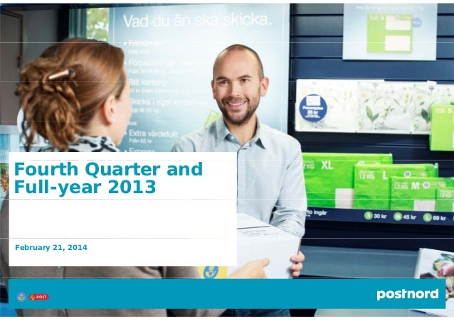 Fourth Quarter and Full-year 2013  February 21, 2014