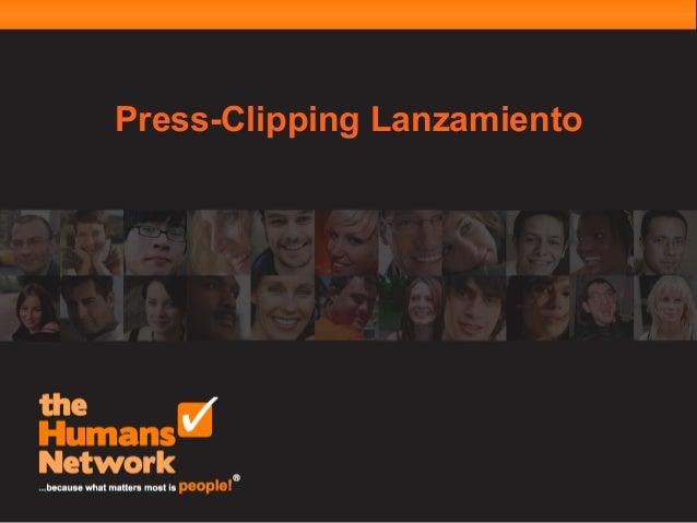 Press-Clipping Lanzamiento