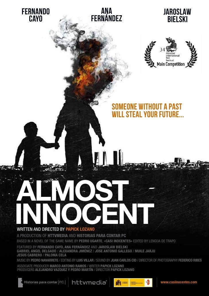 """Pressbook """"Almost innocent"""""""