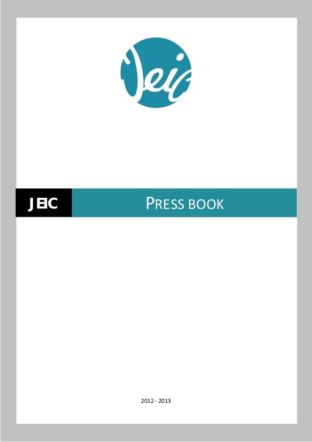 JEIC    PRESS BOOK       2012 - 2013