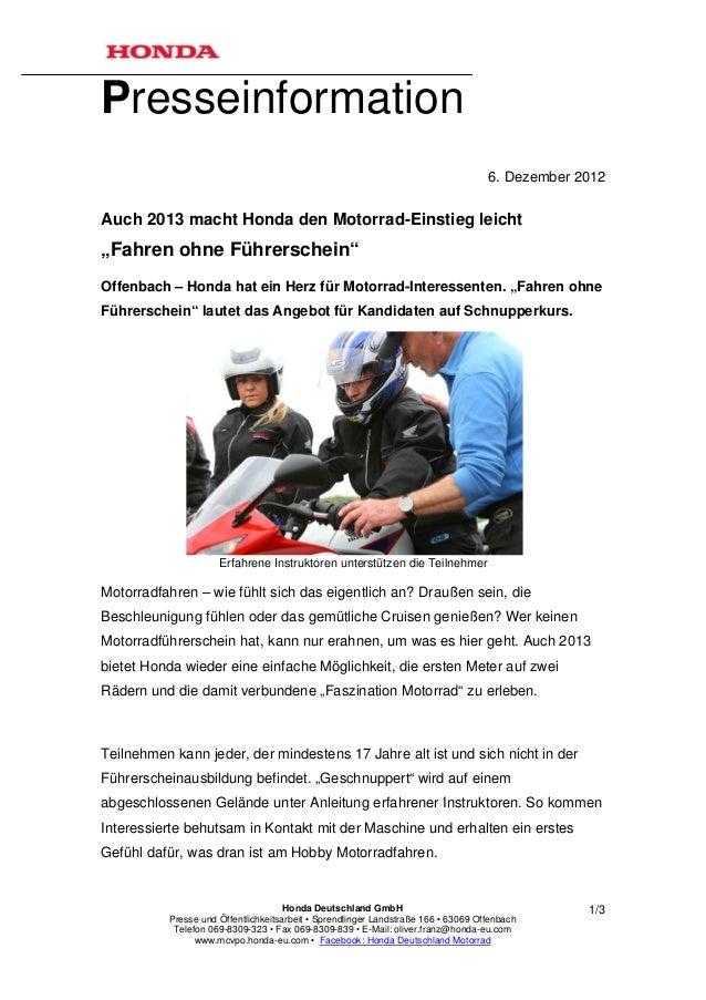 Presseinformation                                                                                   6. Dezember 2012Auch 2...