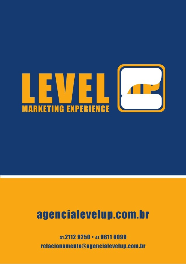 Level Up - Marketing Experience: Apresentação e Portfolio