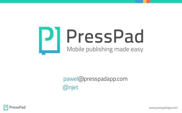 PressPad Company Overview