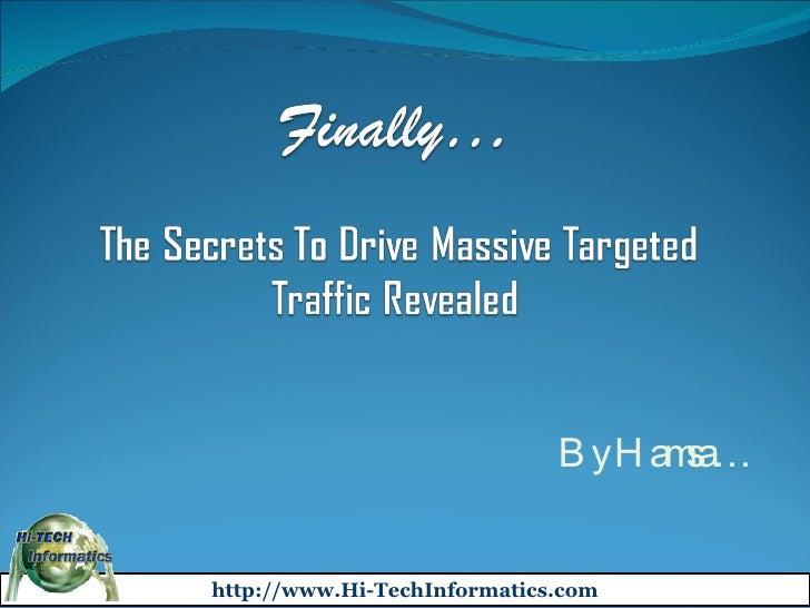 Hi-TechInformatics.com advertise website internet marketing advertising