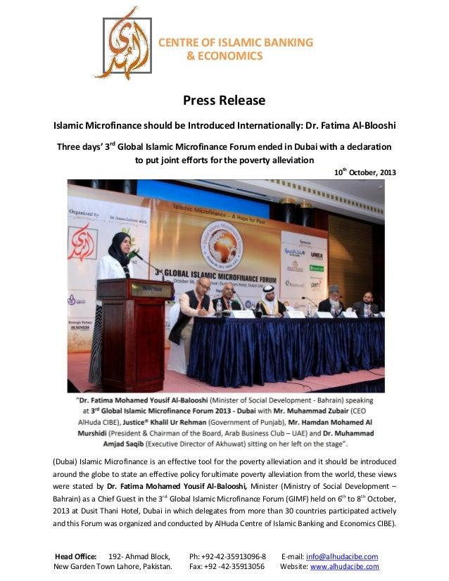 CENTRE OF ISLAMIC BANKING & ECONOMICS Head Office: 192- Ahmad Block, Ph: +92-42-35913096-8 E-mail: info@alhudacibe.com New...
