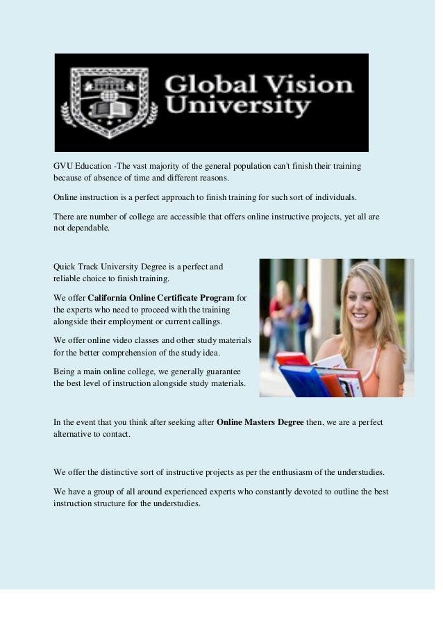 Certificate Programs Online February 2017