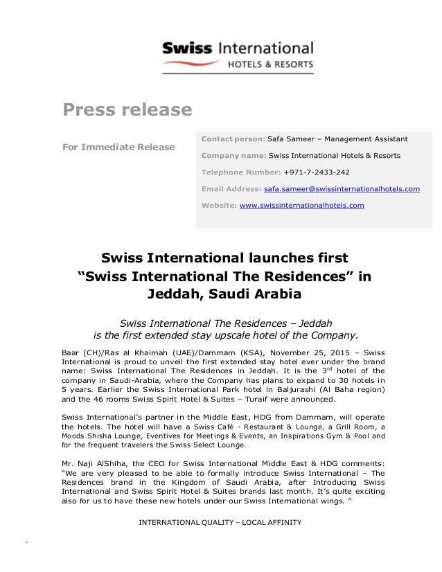 swiss international launches first swiss international