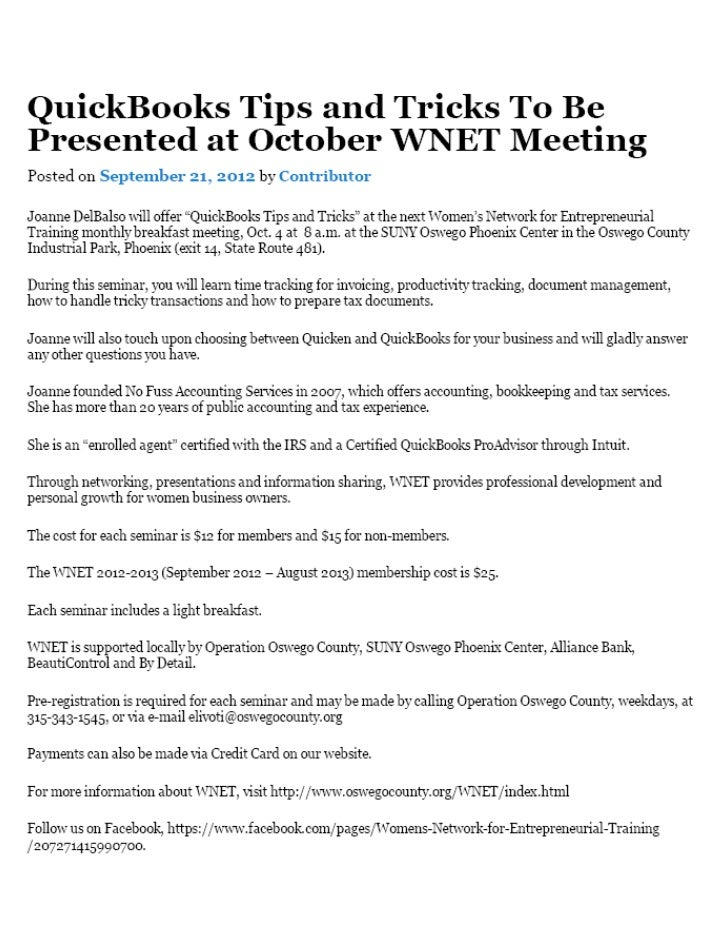 Press Release for WNET Presentation