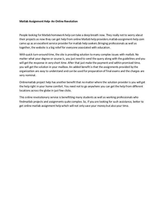Matlab Assignment Help Matlab Homework Help Matlab Project Help Matla    SlideShare