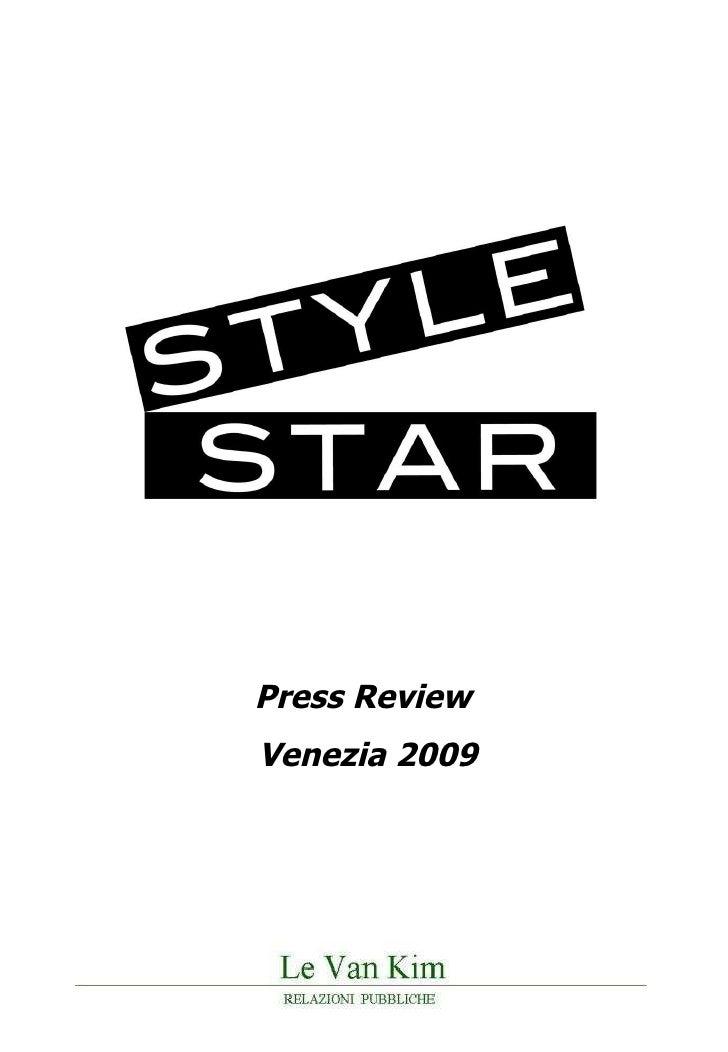 Press Review  Venezia 2009