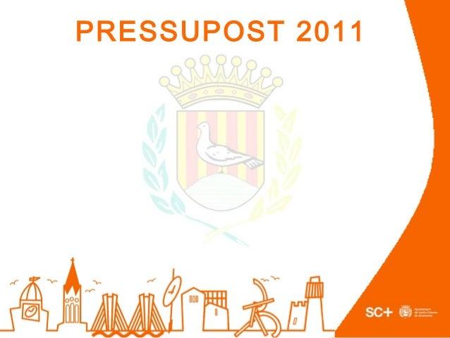 PRESSUPOST 2011