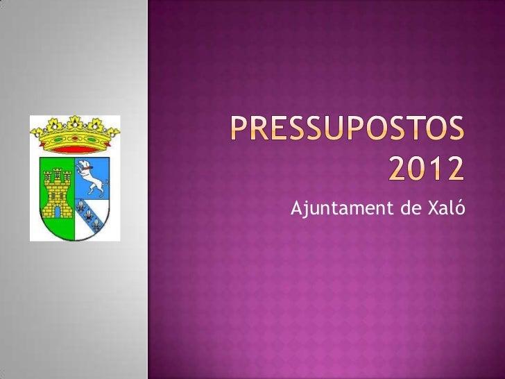 Ajuntament de Xaló