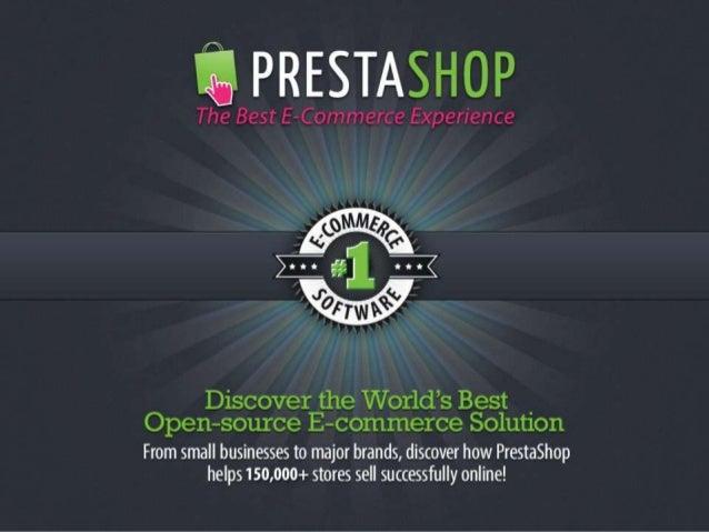 PrestaShop presentation - Lviv Meetup