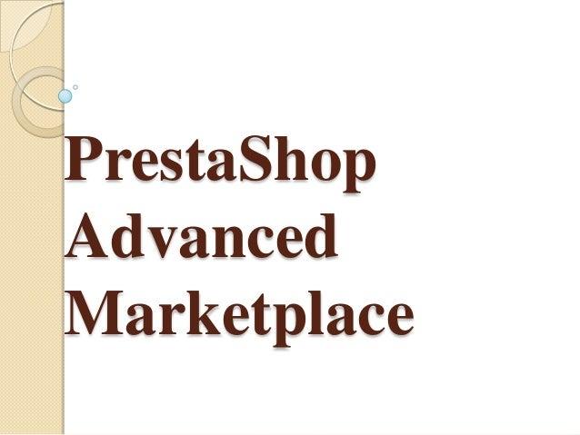 PrestaShop Advanced Marketplace