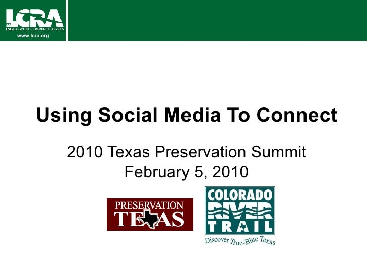 Preservation Texas Social Media Roundtable Feb2010