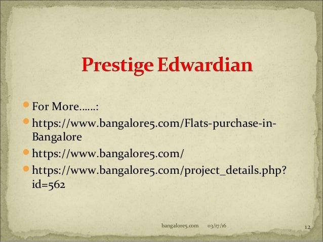 Prestige Edwardian