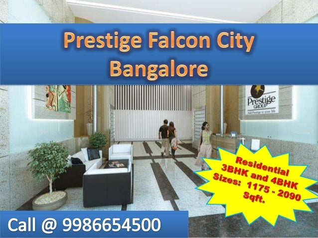 Visit at for more details: http://www.prestigefalconcity.org.in/