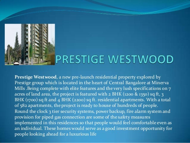 Prestige westwood