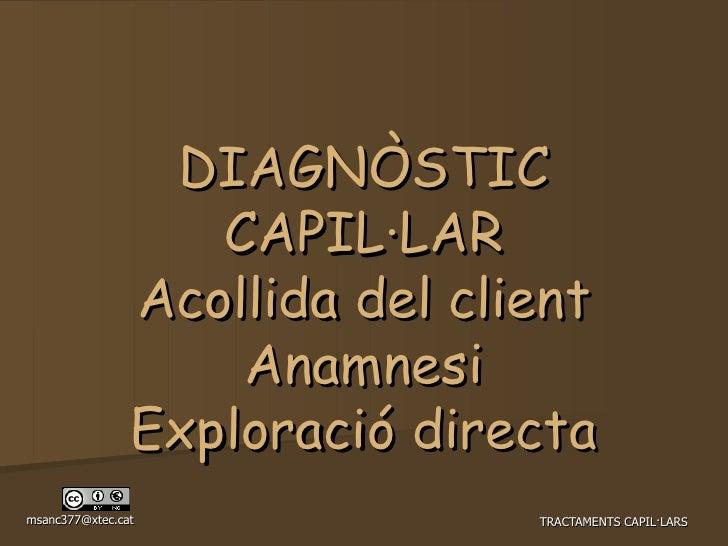 Diagnostic Capil·lar Manual