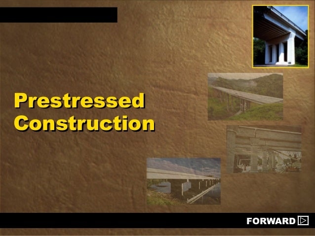 Prestressed construction