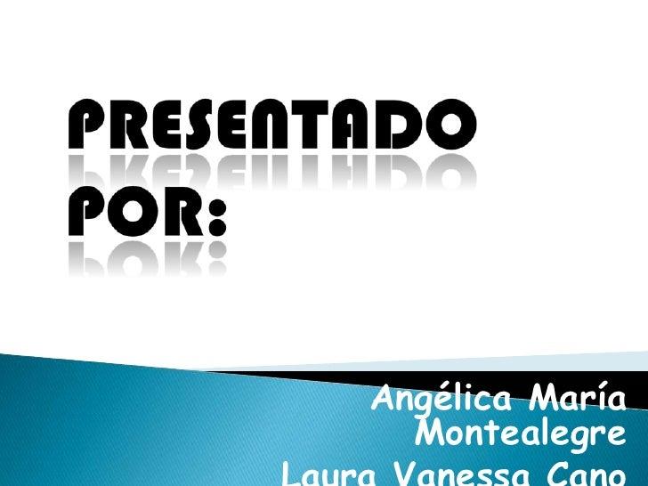 Angélica María  Montealegre
