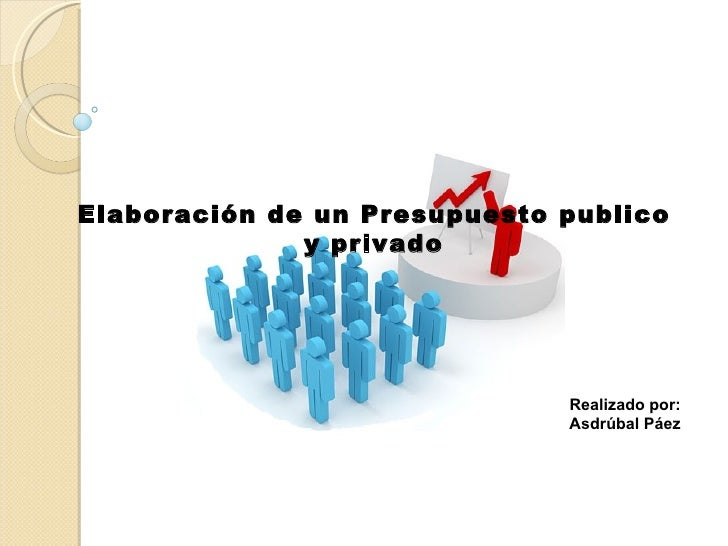 Elaboración de un Presupuesto publico y privado Realizado por: Asdrúbal Páez