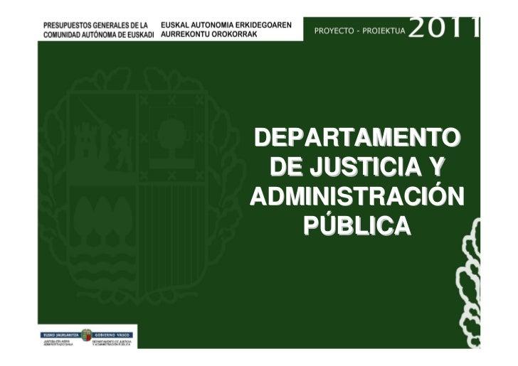 Presupuestos 2011 Justicia y Administracion Publica.pdf