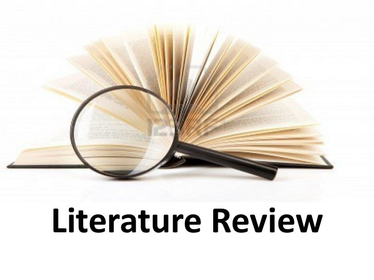 Master Thesis Proposal Literature Review