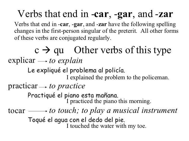 Practicar Conjugation