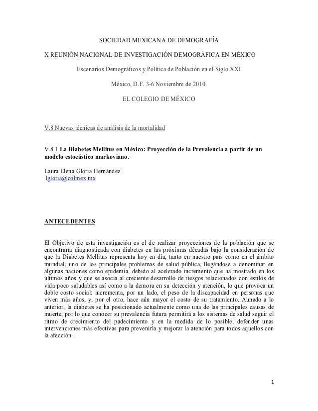 1 SOCIEDAD MEXICANA DE DEMOGRAFÍA X REUNIÓN NACIONAL DE INVESTIGACIÓN DEMOGRÁFICA EN MÉXICO Escenarios Demográficos y Polí...