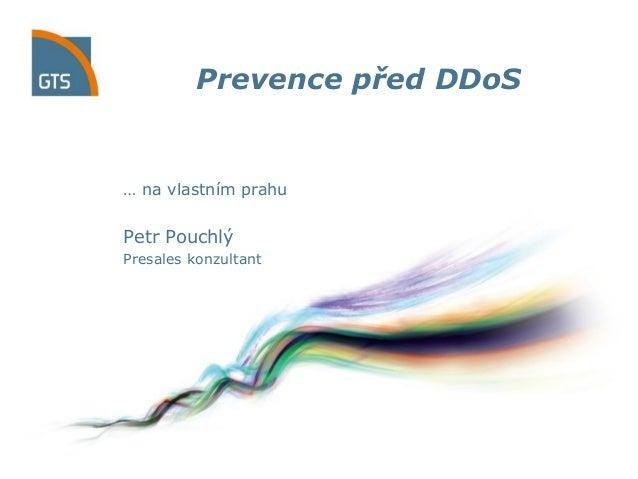 Prevence pred DDoS