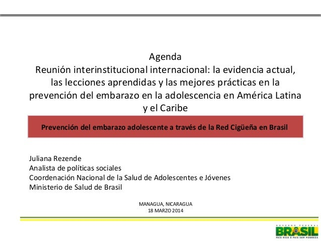 Agenda Reunión interinstitucional internacional: la evidencia actual, las lecciones aprendidas y las mejores prácticas en ...