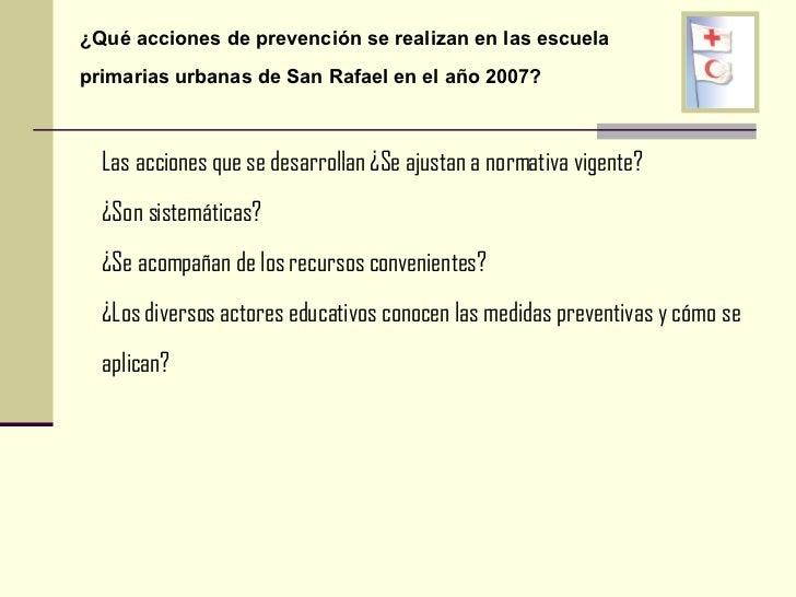 Prevención En Escuelas