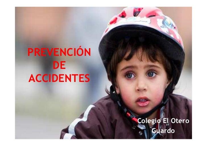(Prevención de accidentes)