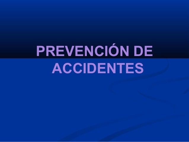 Prevencion De Accidentes Es Slideshare | apexwallpapers.com