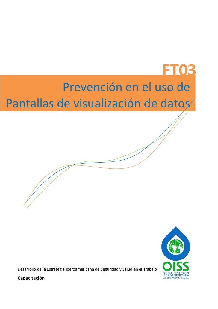 Prevención en el uso de pantallas de visualizacion de datos
