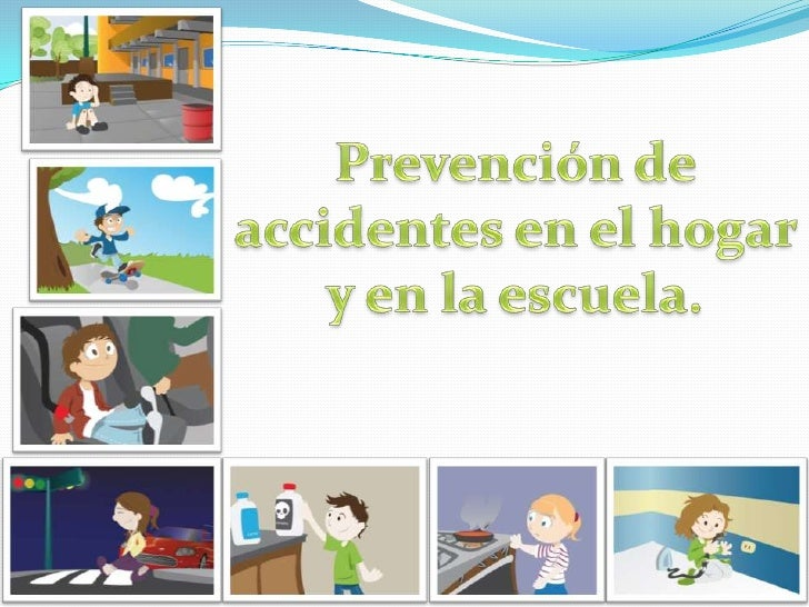 Prevención de accidentes en la casa y la escuela<br />Por Ricky y Pau<br />