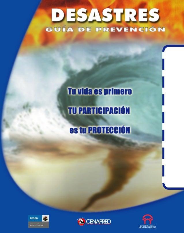 Prevencion en caso de un desastre natural