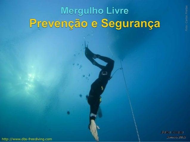 1. Mergulho Livre - Prevenção e Segurança (v 5.1.11)