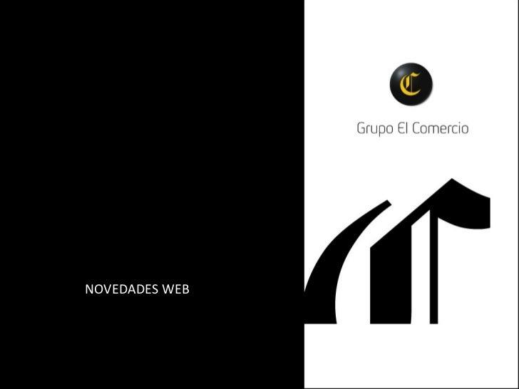 2012 Nuevos formatos publicidad Digital en El Comercio.pe