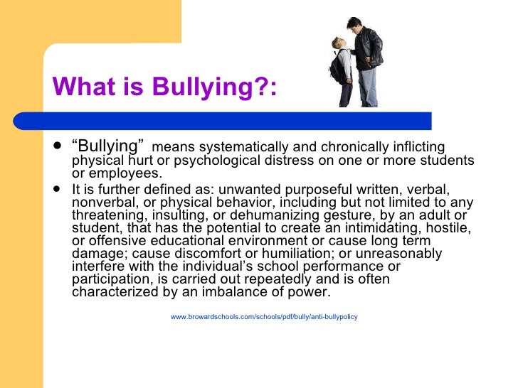 Essay about ways to reduce bullying in schools Term paper Sample ...