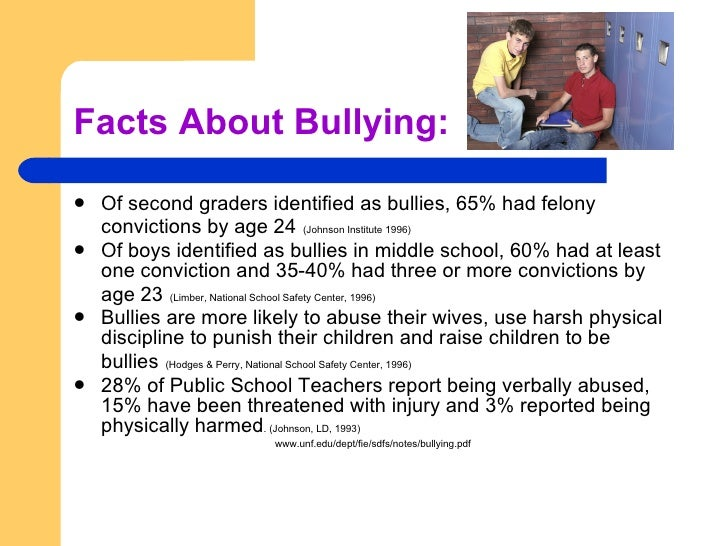 bully essays for school Saved essays approximately 160,000 kids miss school each day due someone wanting to fit in may act as a bully to others in front of his or her peers.