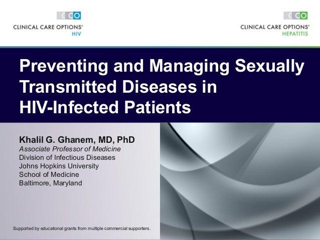 Khalil G. Ghanem, MD, PhD Associate Professor of Medicine Division of Infectious Diseases Johns Hopkins University School ...