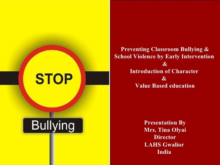 essays on school violence prevention